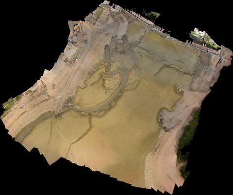 orthophotoplan drone